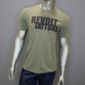 """""""Revolt Tattoos Logo"""" (Green)"""