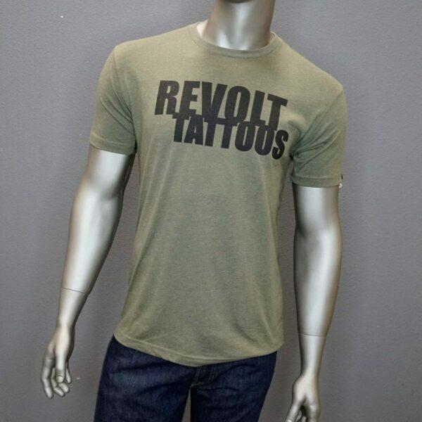 """""""Revolt Tattoos Logo"""" (Green) 1"""