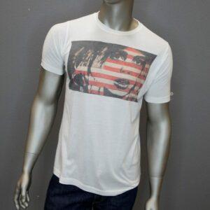 """""""Men's Flag Girl"""" (White) 1"""