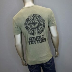 """Revolt Fist"" (Green) 1"