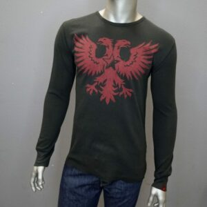 """Double Headed Revolt Eagle Thermal"" (Black)"