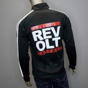 """Revolt Run DMC Track Jacket"" By Sausage (Black)"