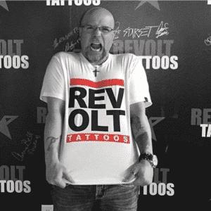 """Revolt Run DMC"" By Sausage (White)"