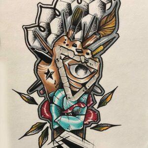 Marker on Paper, 2 - Chad Lambert