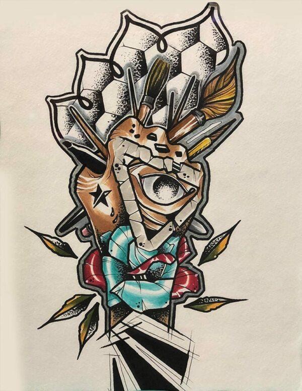 Marker on Paper, 2 - Chad Lambert 1
