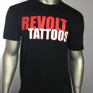 """""""Revolt Tattoos Logo"""" (Black)"""