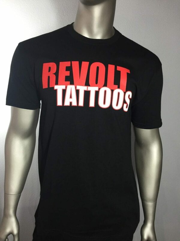 """Revolt Tattoos Logo"" (Black) 1"