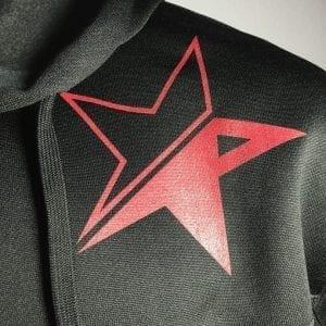 """Revolt Star Hi Tech Hoodie"" (Black)"