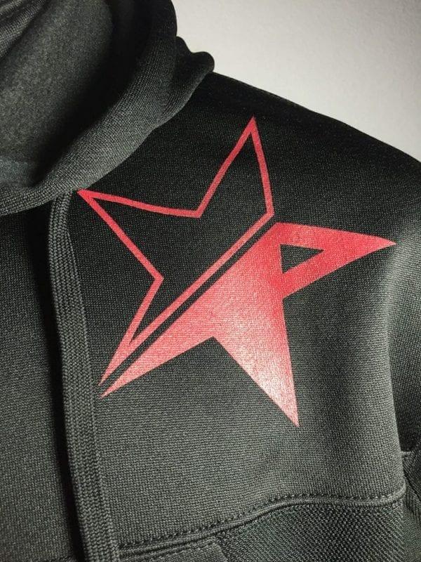 """Revolt Star Hi Tech Hoodie"" (Black) 2"