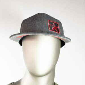 Charcoal Grey Snap back hat