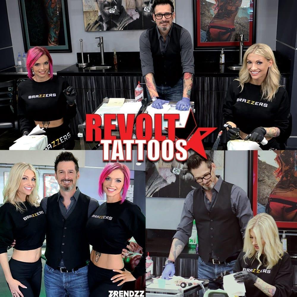 Porn Star Tattooing 101, Brazzers, Revolt Tattoos