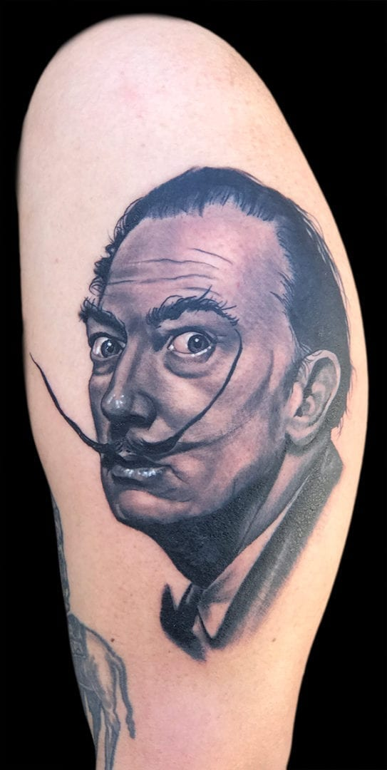 Tattoo by Jason Paxman